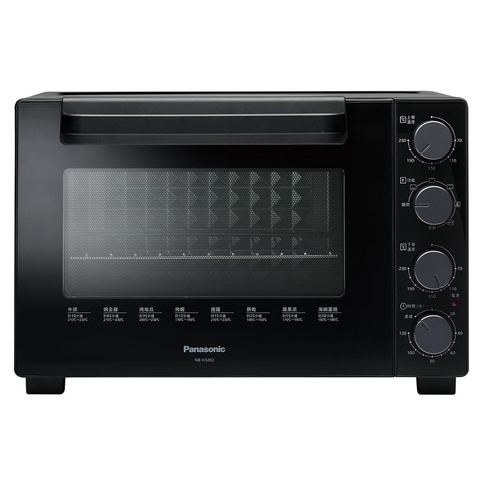 PANASONIC 32L雙溫控發酵電烤箱 NB-H3202