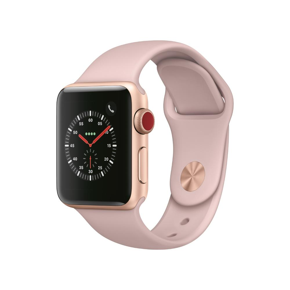 Apple Watch S3 LTE 38mm 鋁金屬-運動型錶帶