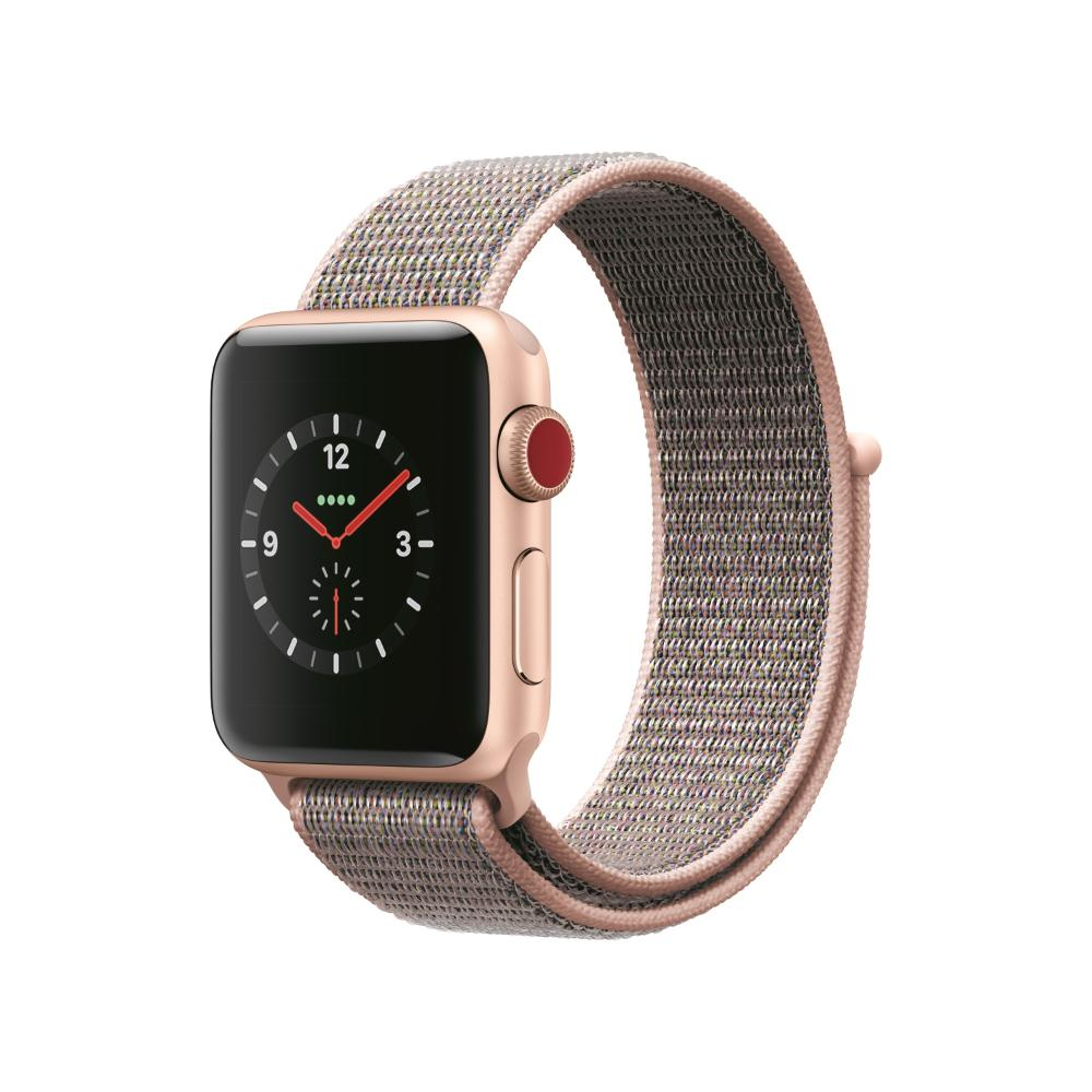 Apple Watch S3 LTE 38mm 鋁金屬-運動型手環